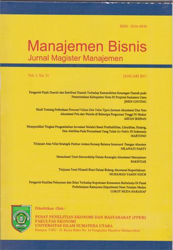 Jurnal sosial ekonomi