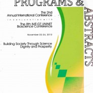The 2nd Annual International Conference Inconjunction with The 8th IMT – GT UNINET Bioscience Conference