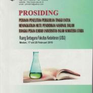 PROSIDING Peranan Perguruan Tinggi Untuk Meningkatakan Mutu Pendidikan  Nasional Dalam Rangka Pekan Ilmiah Universitas Islam Sumatera Utara